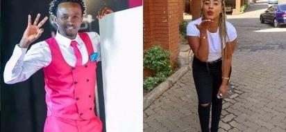 Gospel sensation Bahati receives scintillating birthday shower from girlfriend Diana Marua