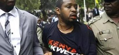 Activist Boniface Mwangi Released On 50K Bond