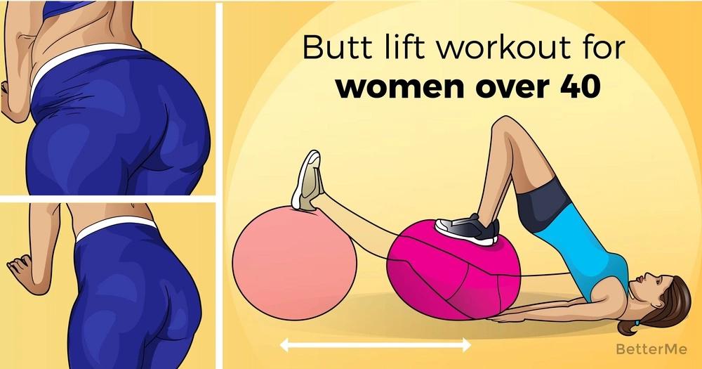 Butt lift workout for women over 40