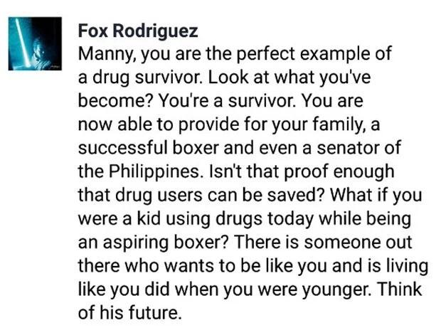 Netizen points out how Du30's drug war shatters dreams