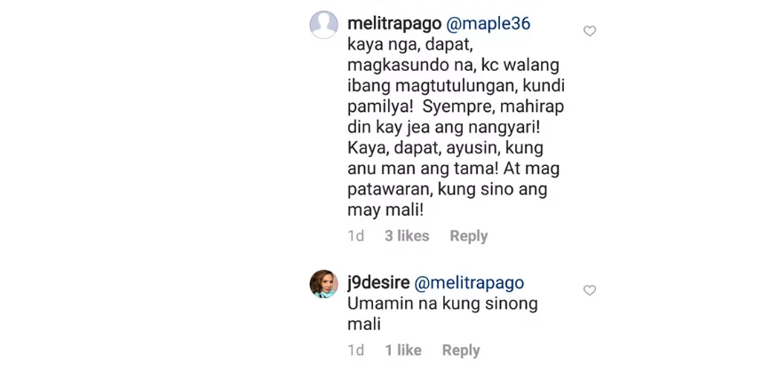 Jenine Desiderio fights back basher: Wala kayong alam!
