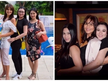 Iba talaga sila! Original 'Encantadia' Sang'gres reunite at Iza Calzado's birthday party