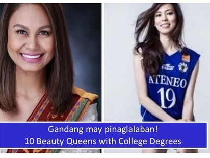 Maganda na, matalino pa! 10 Filipina beauty queens with college degrees under their belt
