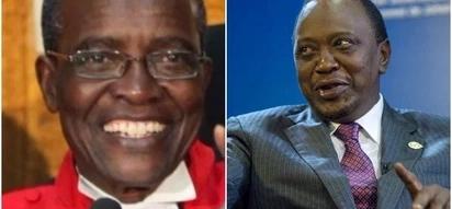 Tantalising photos of Maraga and Uhuru sharing lunch