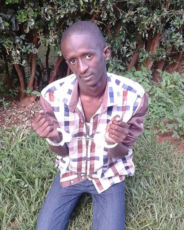 Njugush 'beaten' by wife after pulling a silly joke on her