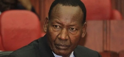 Nkaissery unleashes anger at a fellow Cabinet Secretary and this is why