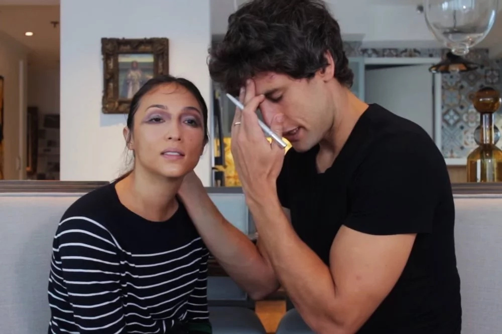 Watch how Solenn got her makeup payback as she transforms husband Nico into a woman!
