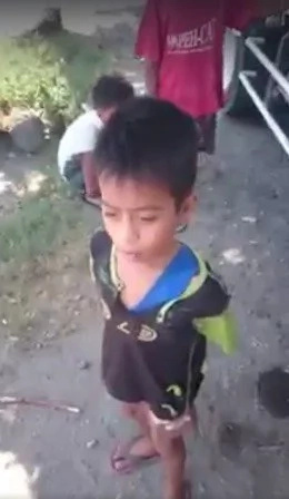 VIRAL: Young boy's angelic voice caught on video
