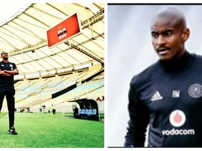 Mokwena says he is quite at home at Pirates