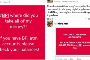 Nangyari din ba sa inyo? Netizens complain of losing money from their BPI accounts, bank explains glitch is caused by internal system error