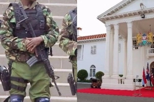 Elite GSU officers shoot DEAD stranger at STATE HOUSE