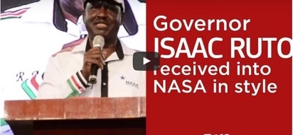 Exclusive: Governor Isaac Ruto received into NASA in style (video)