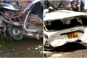 Limuru residents annoy many after CHOOSING MEAT over DYING DRIVER