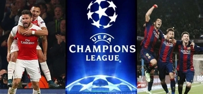 See what Wenger told his players as they prepare for Barcelona