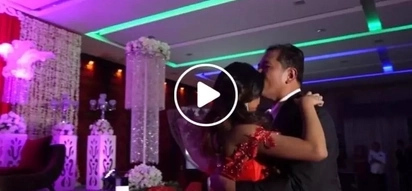 Surprised debutante receives the sweetest birthday present from her father