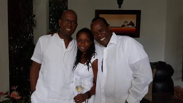 Love! 7 breath taking photos of Bob Collymore with his wife Wambui