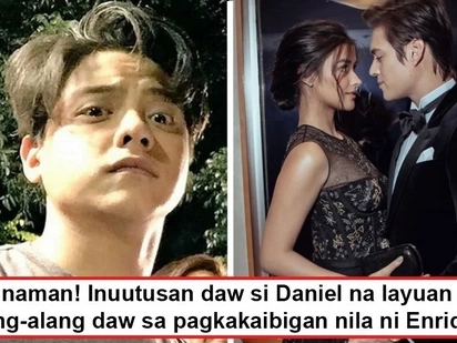 Layuan mo daw siya! Daniel Padilla allegedly asked to stay away from Liza Soberano for the sake of friendship with Enrique