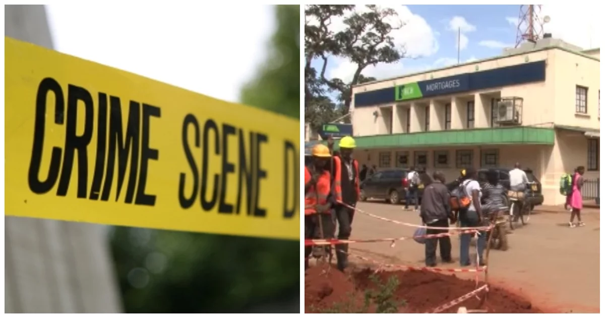Kirinyaga police foil another robbery incident at KCB branch, thanks to a loud alarm