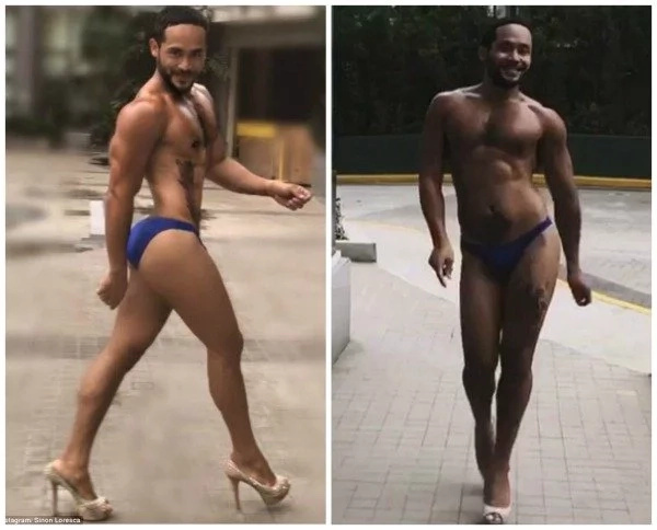 Six million people fall in love with MAN dancing on 16cm HEELS (see photos, video)