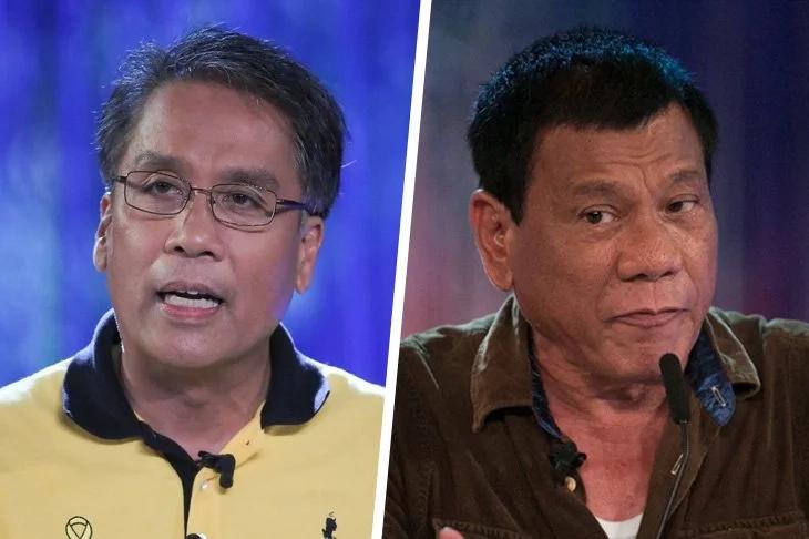 Roxas to Filipinos: democracy or dictatorship?
