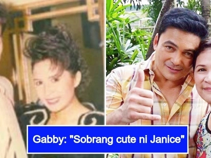 Gabby Concepcion reminisces young love with Janice de Belen in a sweet throwback photo