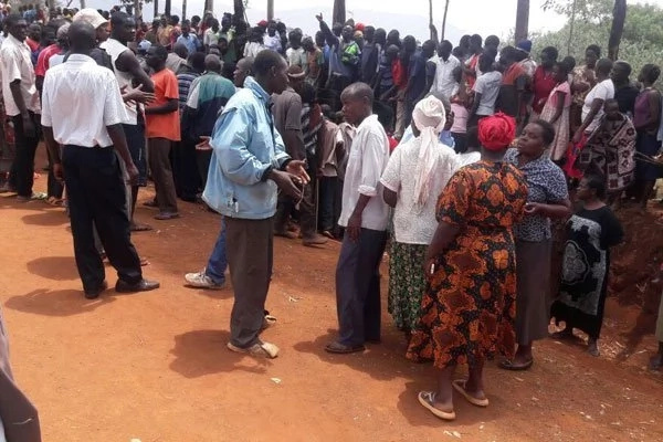 Angry residents lynch suspected members of Sabaot Land Defence Force