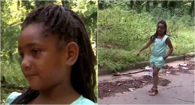 Man told his daughter not to dig through trash, but that's made her a local hero