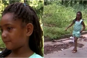 This 6-year-old girl rummages in the garbage and finds it (photos)