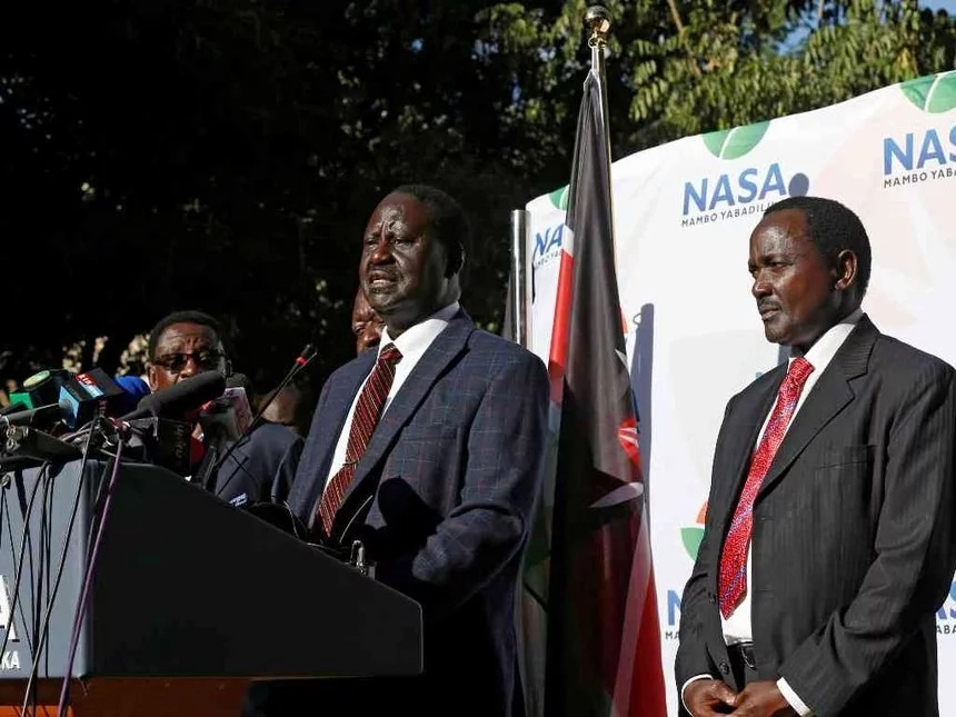 Raila's Supreme Court petition suffers first blow