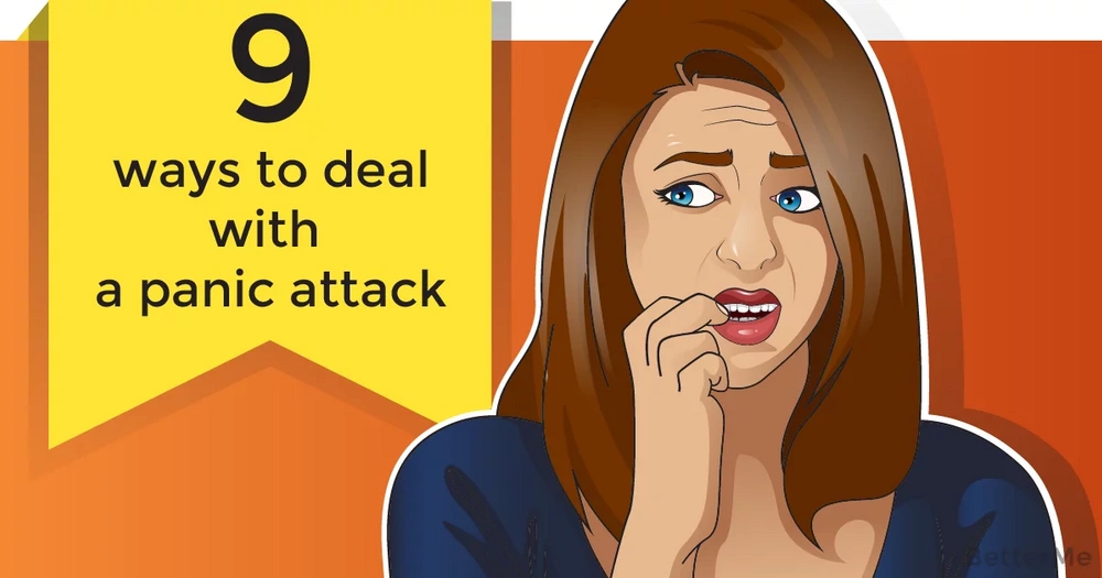 9 ways to deal with a panic attack