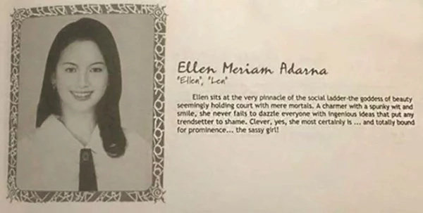 Ang ganda niya kahit nung bata pa siya! Ellen Adarna posts a throwback picture of her as a little girl