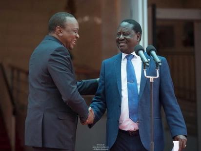 Raila aeleza kwa nini hakuandamana na Kalonzo, Mudavadi na Wetangula kukutana na Uhuru