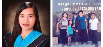 Pinagpala! Daughter of a domestic helper is ranked Top 2 in 2017 teachers' licensure exam