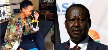 Socialite Huddah Monroe mocks NASA supporters after Supreme Court upheld Uhuru's win