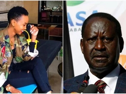 Socialite Huddah Monroe mocks NASA supporters after Supreme Court upheld Uhuru's win