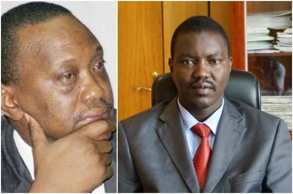 Gavana wa Jubilee azungumza vibaya dhidi ya Uhuru, lakini anajuta