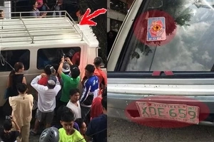 Look closer at this van allegedly used by kidnappers to take children and sell their organs. Beware of this one!