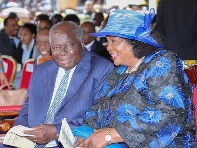 Picha ya kipekee ya Mama Ngina, Lena Moi na Lucy Kibaki wakiwa pamoja