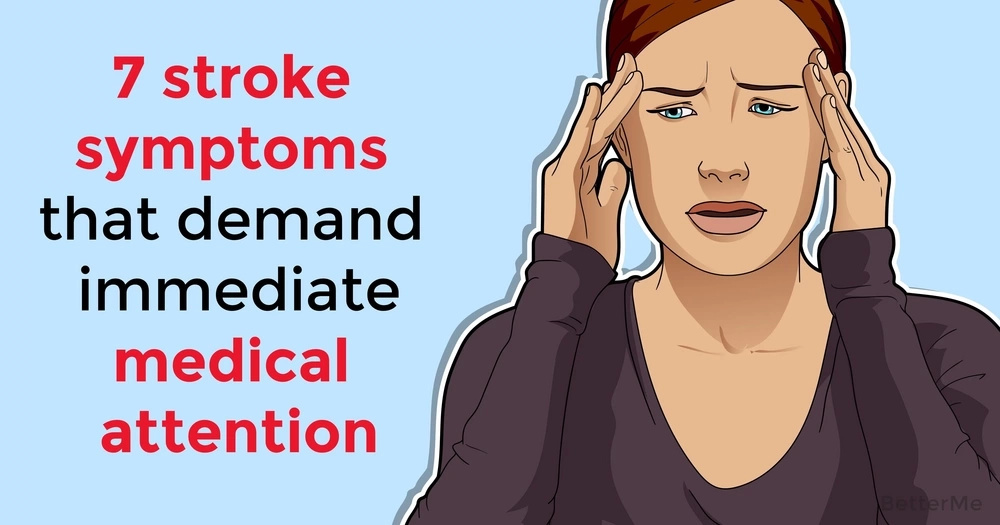 7 stroke symptoms that demand immediate medical attention