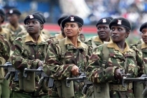 Meet the HIGHLY TRAINED female KDF soldiers who fly fighter jets and operate warships (video)