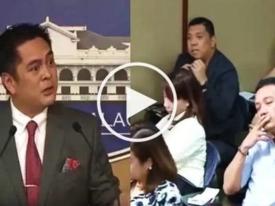 Watch Andanar get angry with reporter and accuse him of being unfair to Duterte!