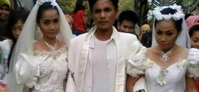 This man was forced to marry two women at the same time—after he was busted for dating both!