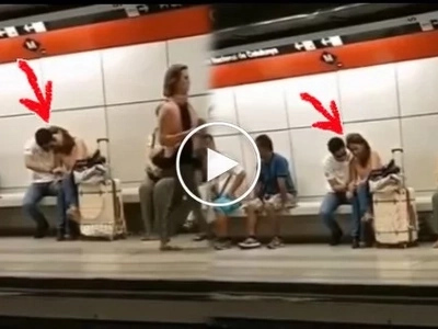 Caught on video! OFW secretly records Daniel Padilla and Kathryn Bernardo doing this at a train station