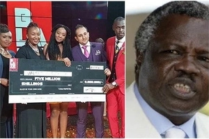 Beautiful young lady who bagged KSh 5 million has a surprise relationship with Francis Atwoli