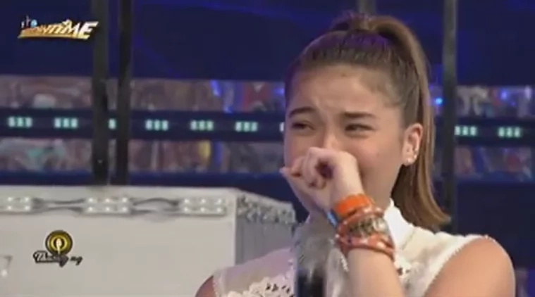 Anne Curtis cries after being teased by Vice Ganda