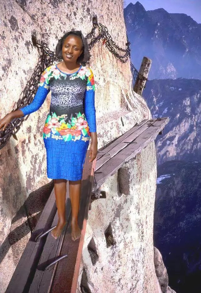 See Kenyan girl's photoshop fail that made her a celebrity