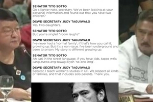 Na-ano lang daw! Netizens slam Sen. Tito Sotto after insulting DSWD Sec. Judy Taguiwalo for being a single parent