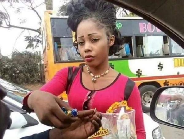 Is she Nairobi's prettiest hawker?