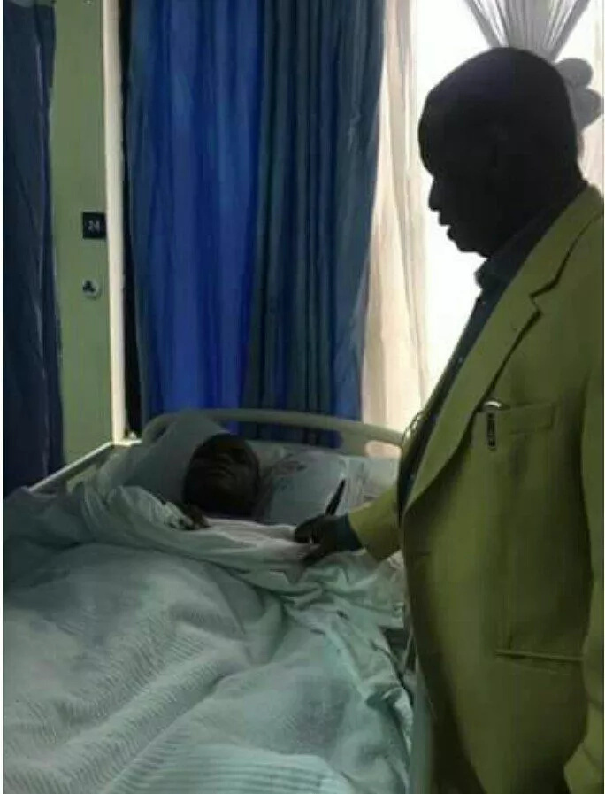 NASA deputy chief agent collapses, rushed to hospital