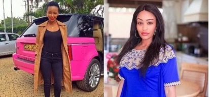 Men are ours to share- Socialite Huddah Monroe tells Diamond Platinumz wife